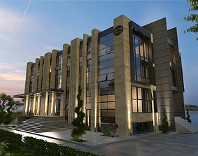 sketchup OFFICE BUILDING 3D model