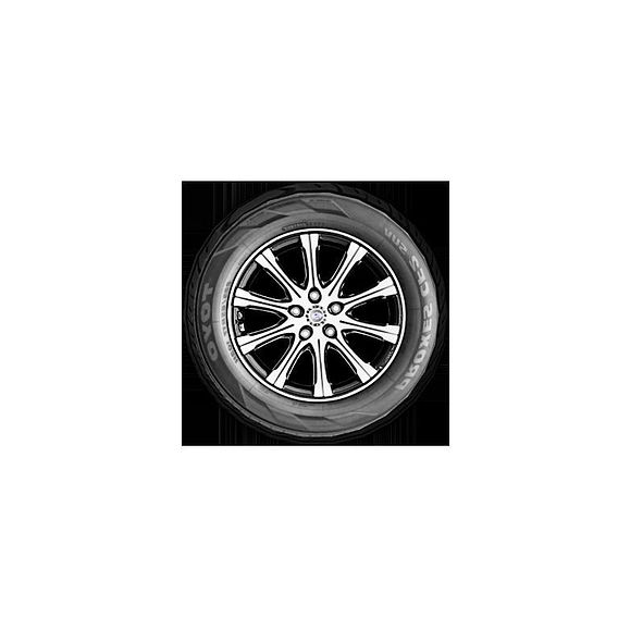 3d low poly tyre