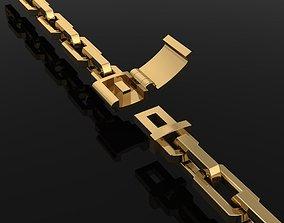 DAINTY HERMES LINK BRACELET NECKLACE 3D printable model