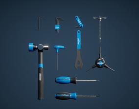 Screwdriver Set Game Ready 3D asset
