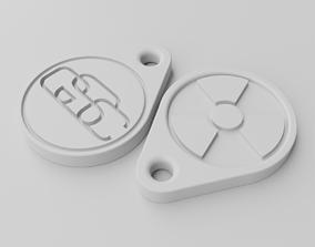 3D printable model GSC keychain