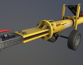 3D model Airport pushback towbar