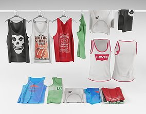 3D Tank top collection