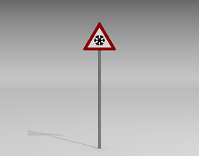 3D Bleck ice sign