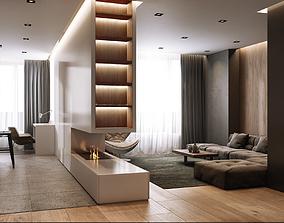 3D Modern style Apartment 1