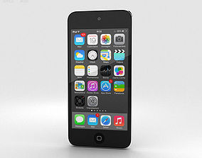 3D model Apple iPod Touch Grey