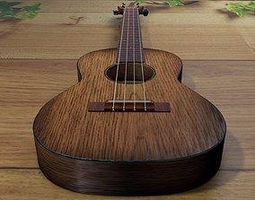 3D asset ukulele