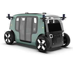 ZOOX Autonomous Self-Driving Vehicle 3D