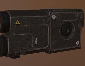 3D asset ZENITH laser sight
