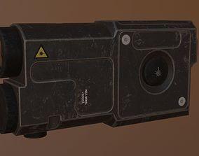 ZENITH laser sight 3D asset VR / AR ready
