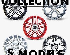 3D model Car Rim Wheel Collection volume 3