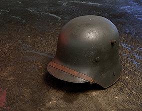 3D model German Helmet WWI Stahlhelm M1916