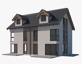 3D House 005 family-home