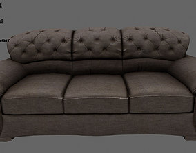 seat Armchair 3D model
