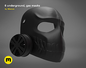 Laughing Gas Mask - 6 underground 3D printable model