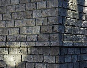 3D asset Rough stone blocks
