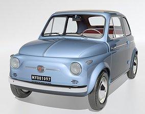 Fiat 500 Nuova 1958 3D model