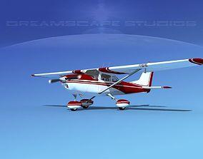 Cessna 172 Skyhawk 1967 V02 3D model