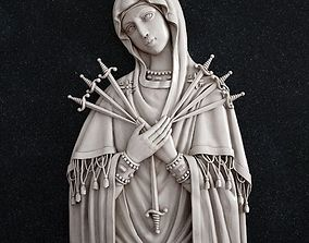3D print model The Icon of the Mother of God Seven Arrows