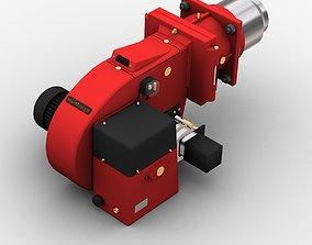 3D model Gas burner weishaupt
