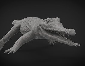 Realistic Crocodile Hi-Res with realistic skin 3D model