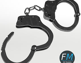 Openable handcuffs 3D model