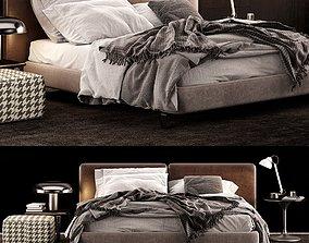 3D Minotti Tatlin Bed