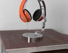 3D model headphones 34 am156