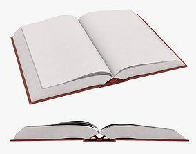 Blank Book 3D