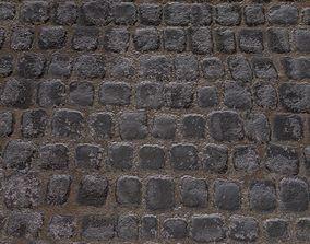 cobblestone Tiled 4K 3D model