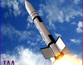 Condor-I missile 3D asset
