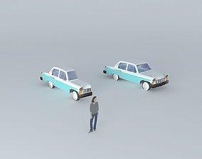 50s car 1 3D model