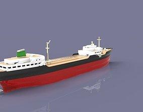 Tanker Ship 3D