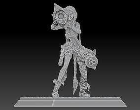 3D print model League of Legends Champion High Poly Jinx