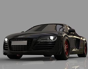 2019 Audi R8 3D model