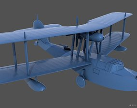 SuperMarine Walrus fuselage 3D printable model