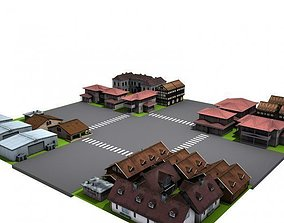 animated Environment 3d model