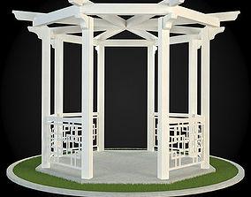 architecture 3D Pergola