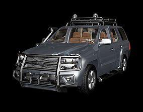 3D model Car obj fbx