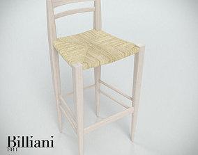 Billiani Vincent VG stool 444 rope 3D