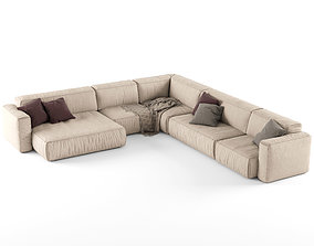 Koo International SOFT Sofa 4 3D model
