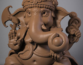 3D printable model male Ganesha