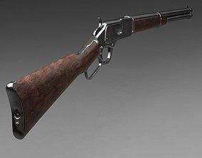 3D model Winchester carbine rifle 1873