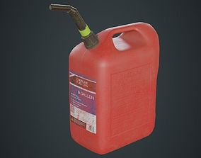 Fuel Can 6B 3D asset