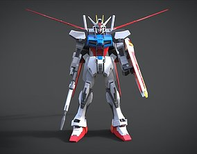 Aile Strike Gundam 3D model roman