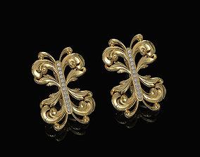 3D printable model Brilliant fantasy earrings jewel