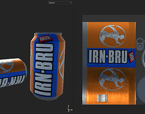 Soda Drink Can 3D model