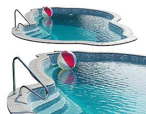 Composite Manhattan Swimming pool 3D model