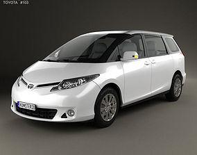 3D Toyota Previa 2013