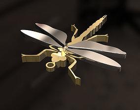 3D print model Dragonfly pendant